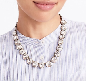 J-CREW-Fly-Brass-plated-crystal-necklace-Jewelry-in-with-tags-in-Jcrew-bag