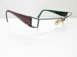 See 7542 Handgefertigt Brille Rahmen 51-17-133 Halb Rahmenlose Einzigartig 12688 Brillenfassungen Beauty & Gesundheit