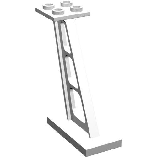 447601-4476 Lot x2 lego-column pillar white pillar posts