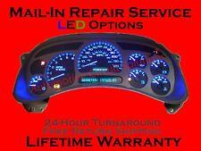 99 12 Gmc Gm Chevy Pontiac Silverado Instrument Gauge Cer Repair Led Upgrade