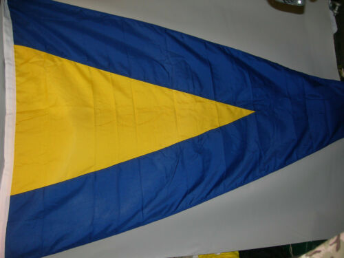 """31-C4 Ex Royal Navy Signal Flag 7/'7/""""x4/'9/"""" Highly Collectable New"""