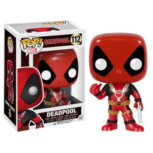 Funko POP Marvel Deadpool Thumbs Up Figurine Vinyl Action Figure NEW