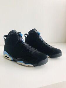 jordan 6 retro black and blue