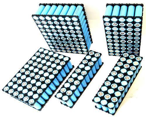 Enerpower batería bloque Li-ion 18650 10s2p 36v 5,7ah 10x2 Samsung 29e-ningún BMS