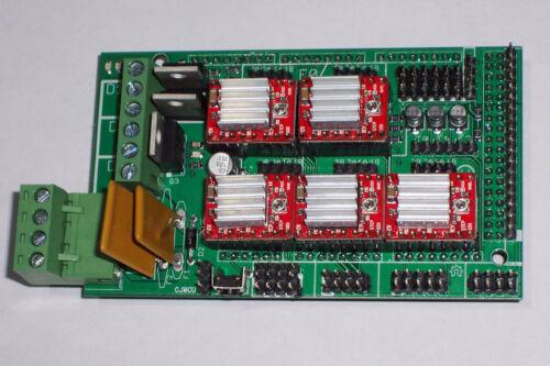 +5,A4988 DRIVERS//HT-SINK COMP 3D PRINTER CONT.,RAMPS 1.4 REPRAP,MENDEL,PRUSA