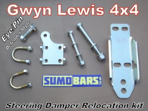 steering damper relocation kit Eye//Pin sumobars Discovery 1 RRc gwynlewis4x4 H//D