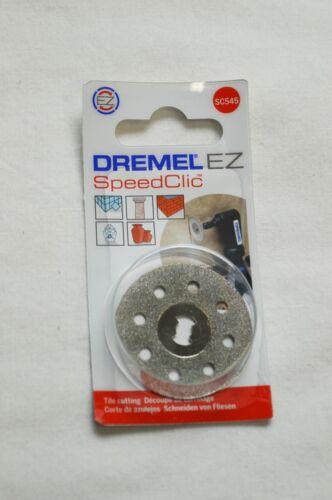 DREMEL SC545 DIAMOND SpeedClic CUTTING WHEEL DREMEL 545 EZ 2615S545JB