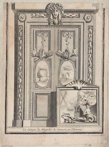 Delafosse-Attributs-Caucase-Georgie-Odishi-Armenie-gravure-originale-XVIIIe