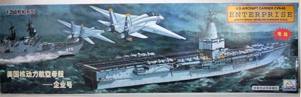 TRUMPETER 1 350 80502 U.S. Aircraft Carrier CVN-65 ENTERPRISE