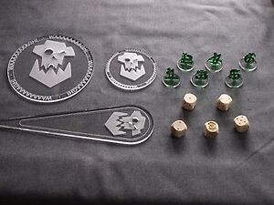Warhammer 40k 40000 blast templates dices tactical bundle ork image is loading warhammer 40k 40000 blast templates dices tactical bundle pronofoot35fo Choice Image