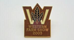 Western Farm Show 2003 Vintage Lapel Pin