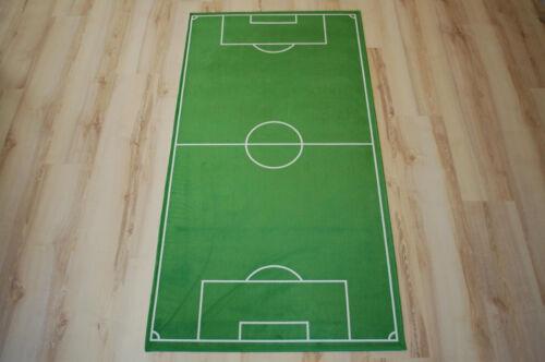 Fußballplatz Kinder Spielteppich Fußball 100x160 cm LK-414 NEU
