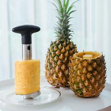 New Easy Kitchen Tool Pineapple Fruit Corer Slicer Cutter Peeler Stainless Steel
