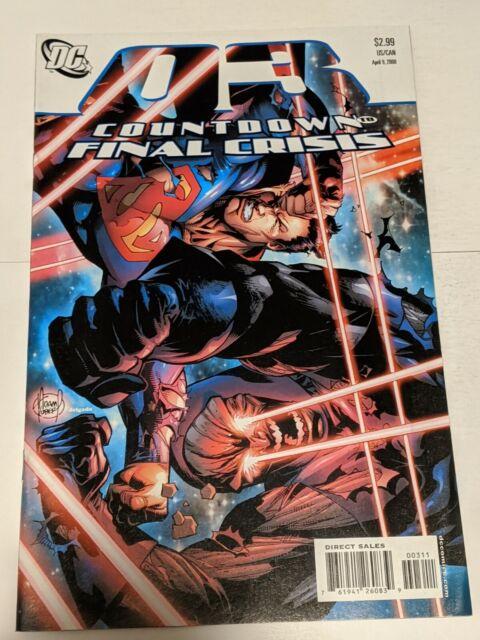 Countdown #3 June 2008 DC Comics Superman Delgado
