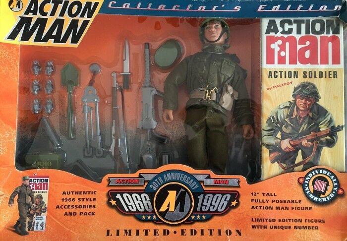 Action MAN 30th Anniversario Edizione per Collezionisti RARA DA COLLEZIONE