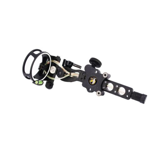 "5 pin Sight compound bow sight .019"" Micro Adjust Detachable Bracket"