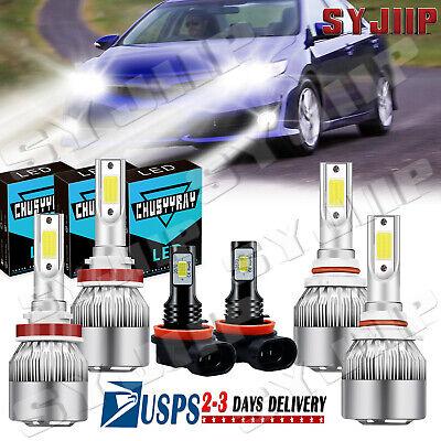 LED Headlight Kit H11 Plug/&Play For MITSUBISHI Outlander Sport 2011-19 Fog Light