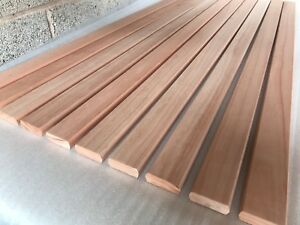 Details about 10 Red Grandis Hardwood Bench Slats 1220mm x 56mm x 20mm  Garden Seat Chair 4ft R