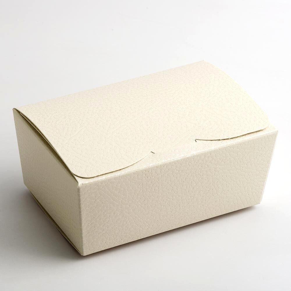 Piccolo BALLOTIN CHOCOLATE TRUFFLE TRUFFLE TRUFFLE Festa Favore Natale Scatola Regalo 103x67x45mm 32a782