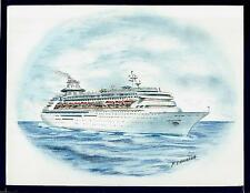 Original Art Work ...m/s SOVEREIGN OF THE SEAS ... cruise ship...RCCL