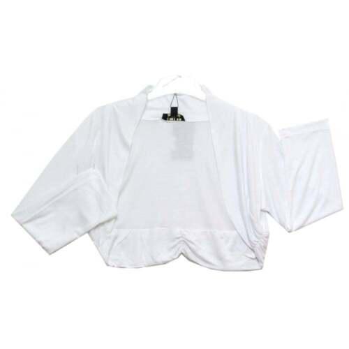 POMODORO WHITE Jersey Maglia Bolero 81620