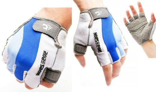Half Finger Cycling Gloves Motorcycle MTB Bike Clothing Fitness Sports Anti Slip