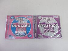 ! 2 Party Tyme Karaoke cd's - Sunday School and Oldies 1 NEW in factory wrap