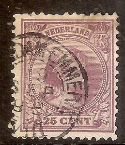 Nederland-Kleinrondstempel-op-NVPH-nr-42