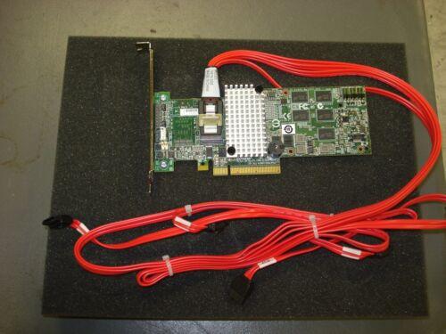 LSI SAS 9260-4I MEGARAID 6GB//S 2.0X8 PCI-E RAID CONTROLLER CARD L3-25121-86B