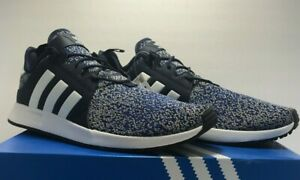Adidas-Mens-Size-12-Originals-X-PLR-Casual-Shoes-B37437-Dark-Blue-White-Black