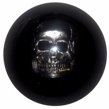 Black Skull manual shift knob Fits Mustang Cobra M12x1.75 thrd