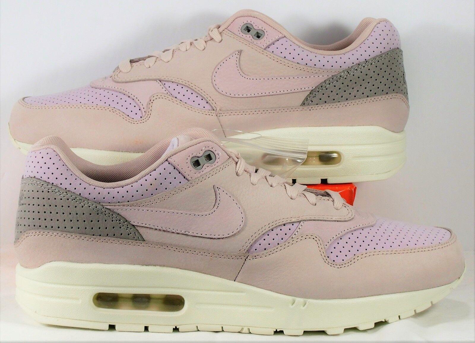 Nike air max 1 nikelab pinnacle schlamm ROT & pearl pink sz 10,5 neue 859554 600