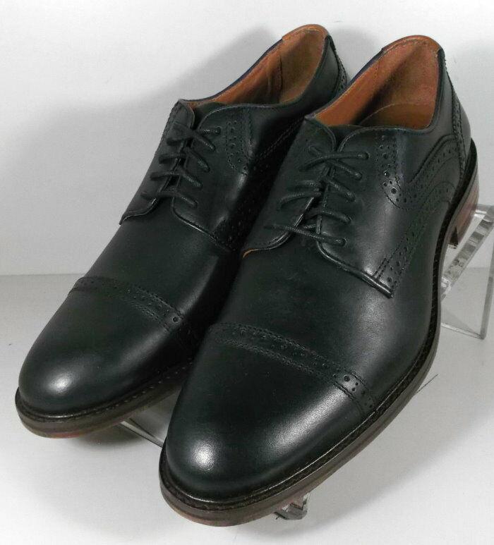 271217 MS50 Chaussures Hommes Taille 11 M Noir en Cuir à Lacets Johnston & Murphy