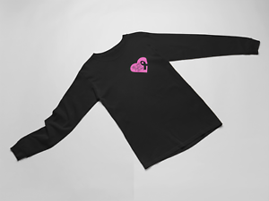 Long-Sleeve-No-One-Fights-Alone-T-Shirt-Breast-Cancer-Walk-Marathon-Support-Tee
