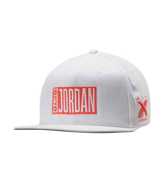 White Jordan Boys Jumpman Snapback Hat