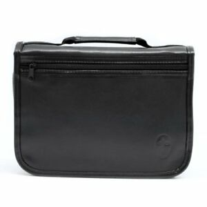 Leather-Organizer-Bible-Cover-Black-Extra-Large
