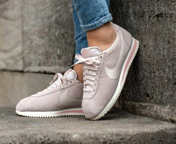 Wmns Nike Classic Cortez Daim-AA3839 003