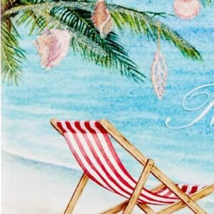 Tropical beach chair boxed holiday xmas greeting cards new 12ct image is loading tropical beach chair boxed holiday xmas greeting cards m4hsunfo