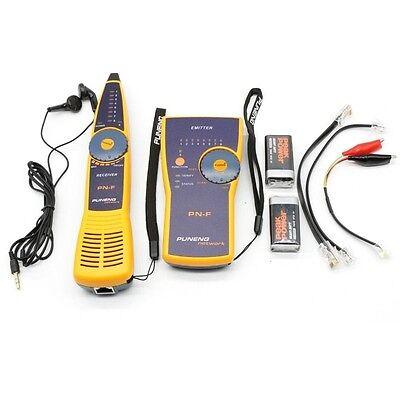 PUNENG PNF Cable Wire Network Toner Probe Tracker Tracer Tester Finder RJ45 RJ1