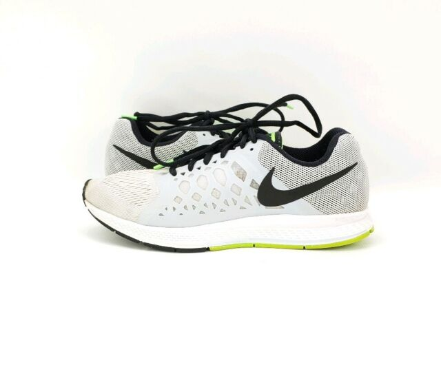 premium selection 016e7 f93a5 Nike Air Zoom Pegasus 31 Men's Running Athltetic Shoes Gray Green Black  Size 6