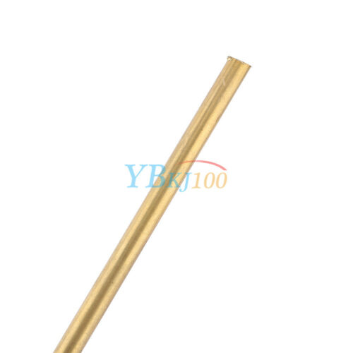 Brass Tube Pipe Tubing Round Outer 3mm-8mm Long 200mm Wall 0.5mm Newest GW