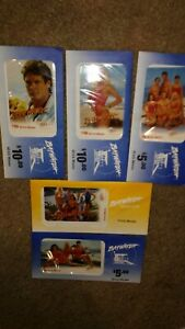 Prepaid-Phone-Cards-GTI-Bay-Watch-Collection-of-9-New-Cards-5-Cards-Sealed
