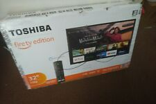 Toshiba 32lf221u19 32 Inch 720p Hd Smart Led Tv Fire Tv Edition For Sale Online Ebay