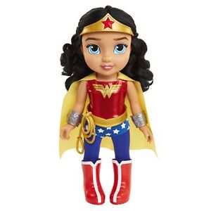 """15/"""" Wonder Woman Toddler Doll 8 Pieces Includes DC Toddler Dolls"""