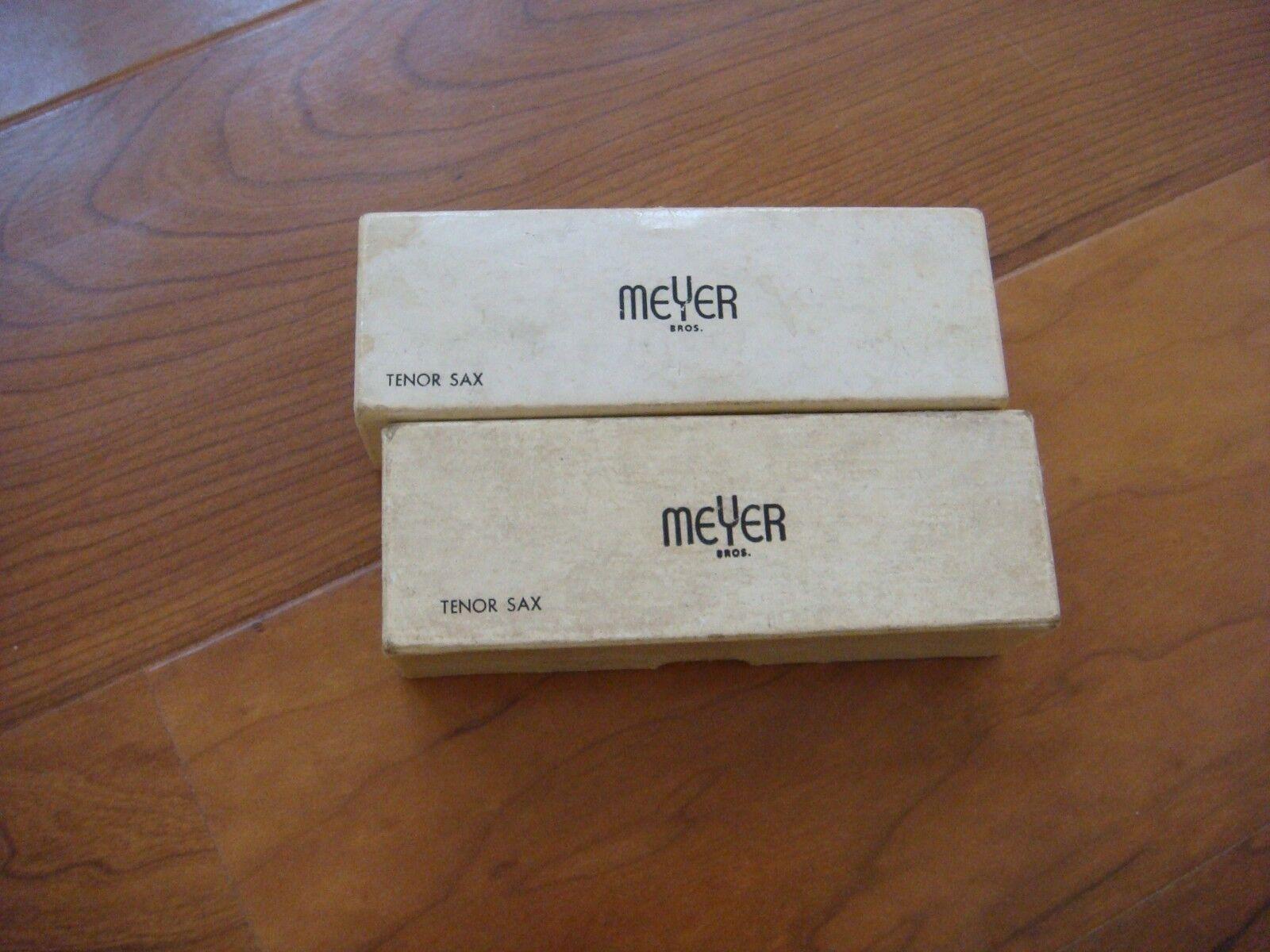 Boquilla Tenor Vintage Mayer Bros Caja sólo sólo sólo 7 & 6  gran selección y entrega rápida