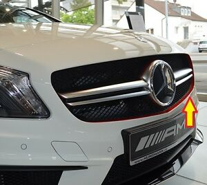 Details About New Genuine Mercedes Benz Mb A Class W176 Amg Edition1 Red Grill Strip Adhesive