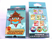 Disney Agent P World Showcase Adventure & Sealed 2-pin Mystery Box