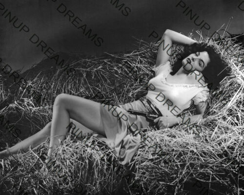 "Movie Actress reprint photo Vintage 10/"" x 8/"" Photograph of Jane Russell"