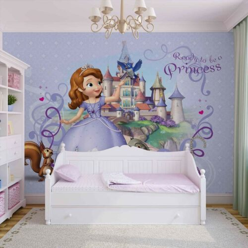 2 sizes available Photo wallpaper wall mural Disney Princess Sofia girls bedroom
