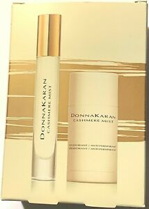 NIB Donna Karan Cashmere Mist Deodorant & Perfume Spray Set